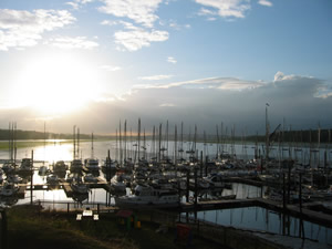 A perfect summer's evening, River Orwell
