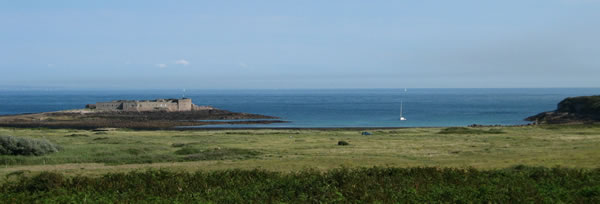 One of a few German forts that line the coast, Alderney