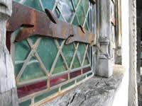 Honfleur, church window