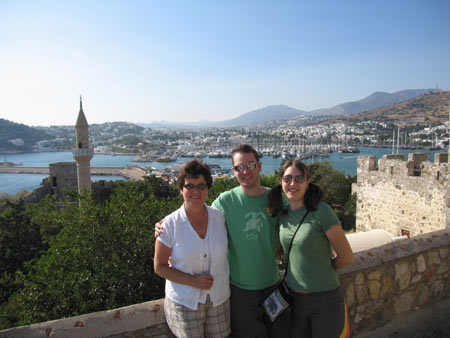 View of Bodrum from the castle