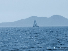 Blues seas begging to be sailed on