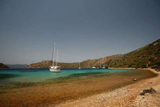 Esper tied ashore