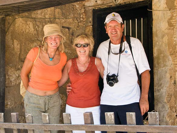 Liz, Trish and Jim