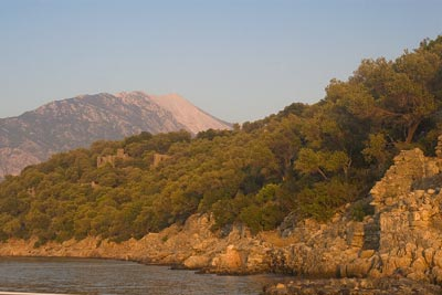 Gemiler Island is littered with Lycian antiquities