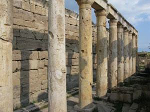 The latrines at Hierapolis