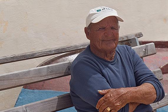 Old Boy In Marsaxlokk