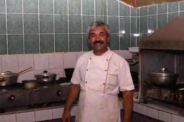 Osman, the Backgammon-cheating chef