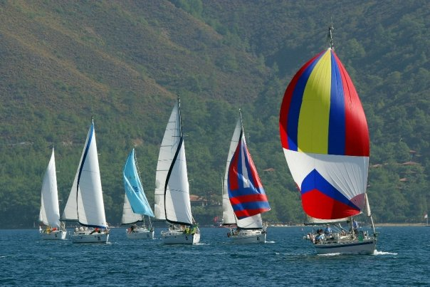 Leading the way in the Bodrum Regatta