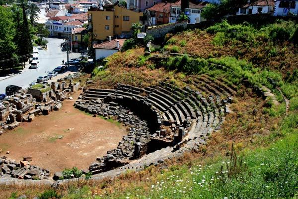 2nd Century, Roman, Telmessos theatre of Fethiye