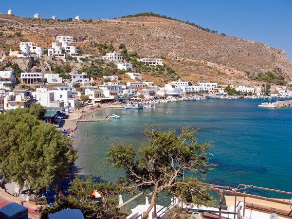 Pandeli harbour, Leros