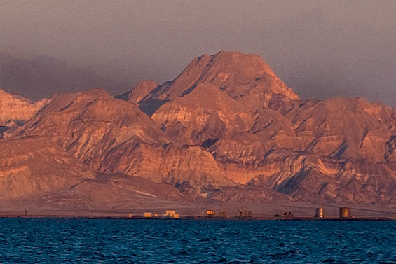 Oil refinery on the Sinai