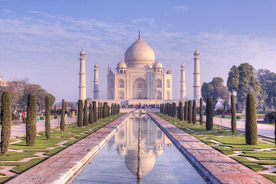 Taj Mahal In HDR