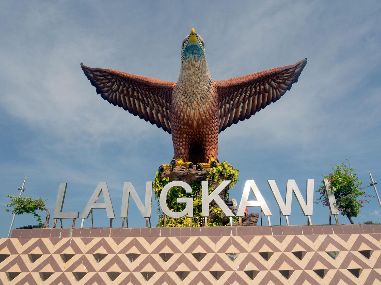 The eagle at Langkawi, Malaysia