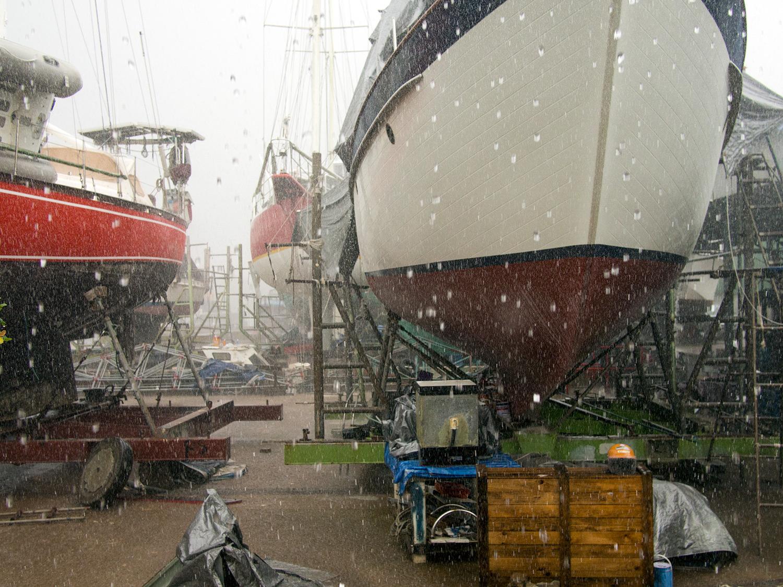 Satun boatyard, PSS, Thailand