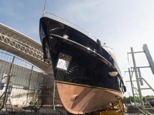 Thea launch, PSS Boatyard, Chebilang