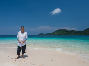 Ko Khai, one of the small islands that make up the group of islands in the Tarutao National Park region