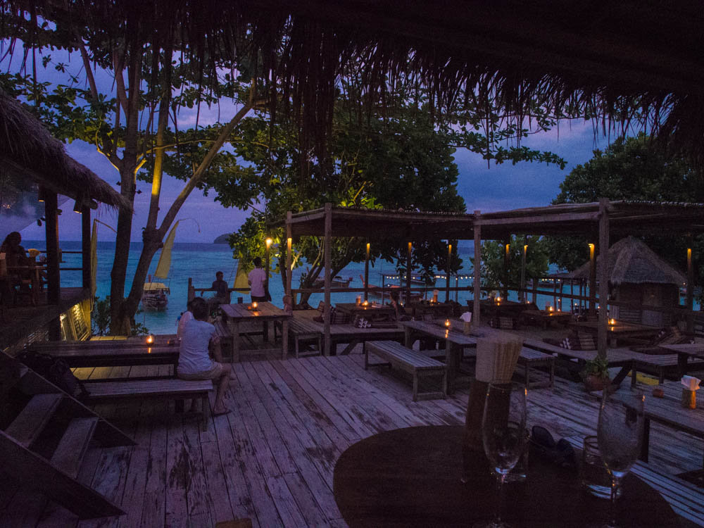 Castaway dining area on Ko Lipe