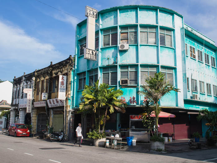 Sky Hotel on Chulia Street, Georgetown, Penang
