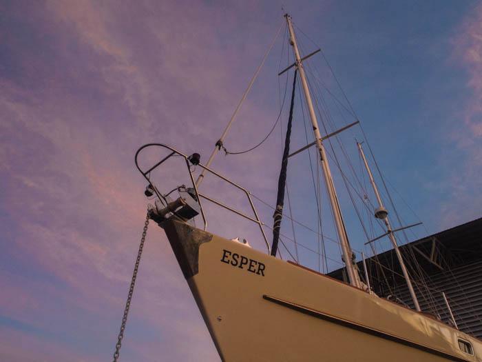 Esper, Oyster 435 refit complete