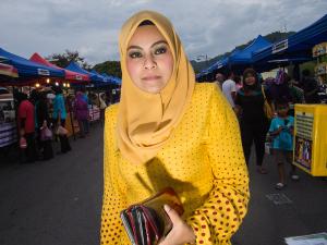 Muslim lady of Langkawi