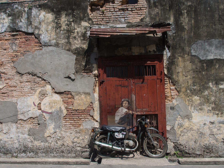 Street art in Georgetown, Penang