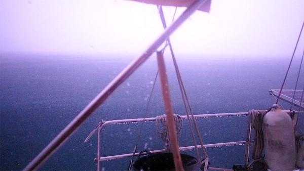 Lightning in the pitch dark aboard Esper