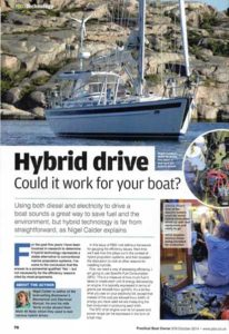 Practical Boat Owner Diesel Hybrid Engine