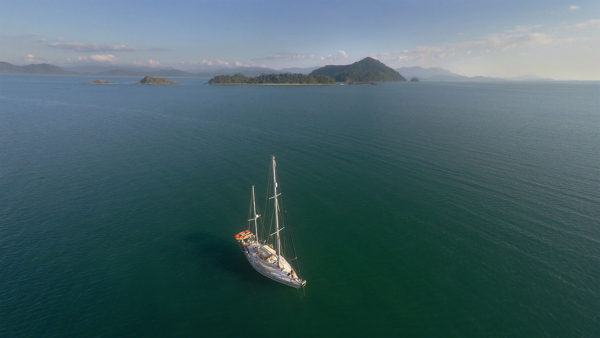 Esper at anchor in Ko Luk Kam Tok