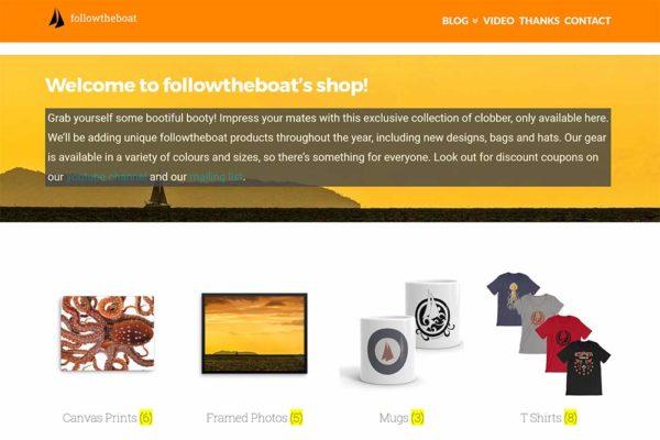 Followtheboat's shop