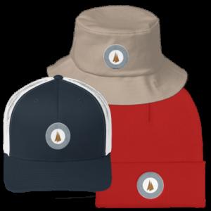 Esper followtheboat sailing hats
