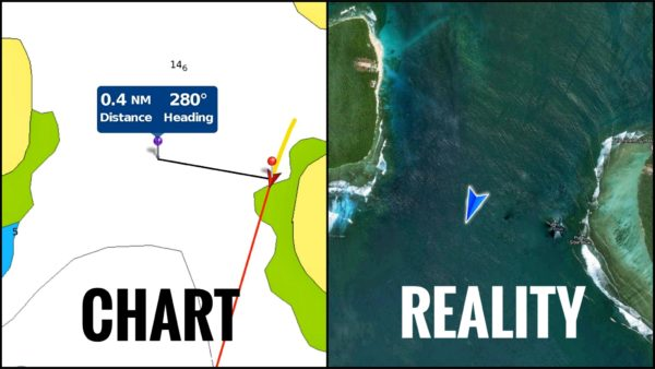 How to use satellite images to navigate   followtheboat
